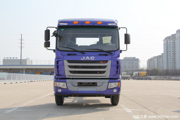 江淮 格尔发K3系列中卡 160马力 4X2 排半载货车(HFC5161XXYPZ5K1E1F)外观图