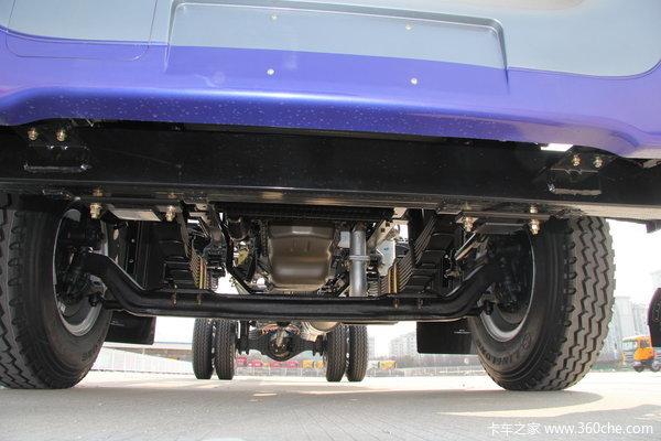 江淮 格尔发K3系列中卡 160马力 4X2 排半载货车(HFC5161XXYPZ5K1E1F)底盘图