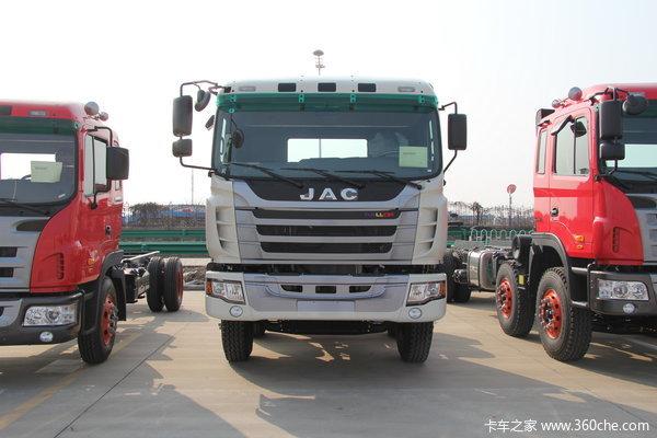 江淮 格尔发K3系列重卡 375马力 8X4 自卸车(HFC3311P1K6H38F)外观图