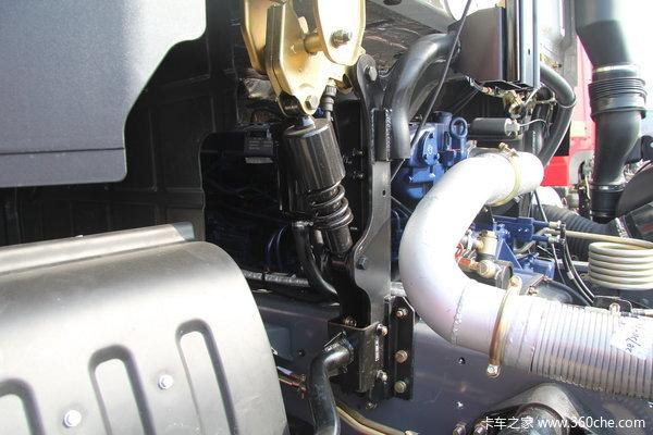 江淮 格尔发K3系列重卡 375马力 8X4 自卸车(HFC3311P1K6H38F)底盘图