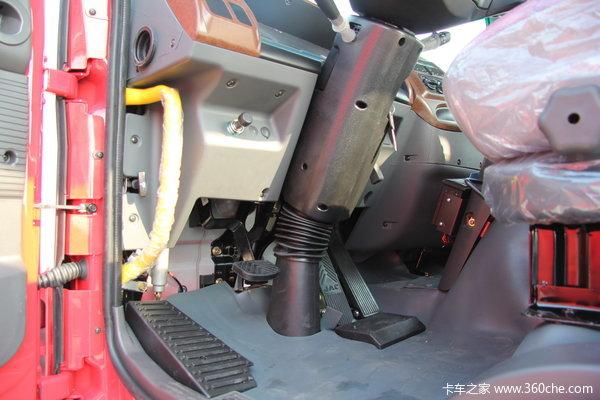 江淮 格尔发K3系列中卡 160马力 4X2 排半载货车(底盘)(HFC1161PZ5K1E1AF)驾驶室图