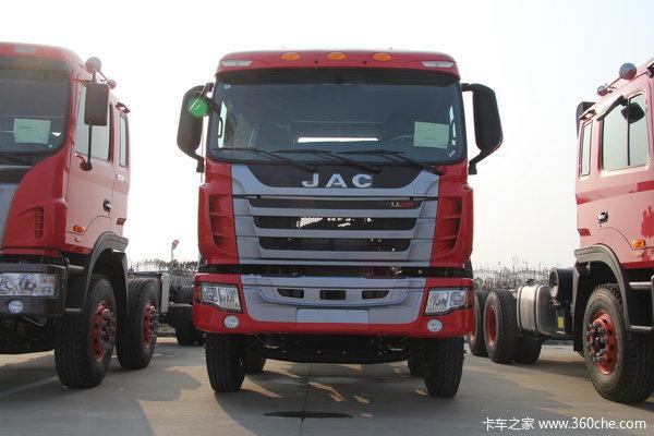 江淮 格尔发K3系列重卡 300马力 8X4 自卸车(HFC3311P2K4H38F)外观图