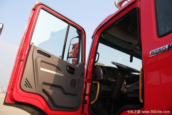江淮 格尔发K3系列重卡 300马力 8X4 自卸车(HFC3311P2K4H38F)驾驶室图