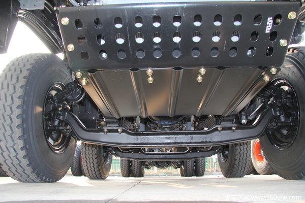 江淮 格尔发K3系列重卡 300马力 8X4 自卸车(HFC3311P2K4H38F)底盘图