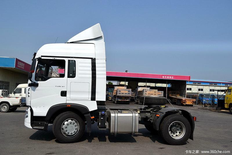 中国重汽 HOWO T5G重卡 310马力 4X2 牵引车(ZZ4187N361GD1)