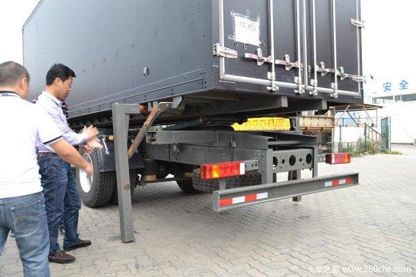中国重汽 HOWO T5G重卡 280马力 4X2 厢式载货车(ZZ5167ZKXM561GD1)上装图