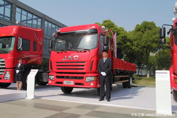 江淮 格尔发K3系列中卡 165马力 4X2 载货车(窄体)