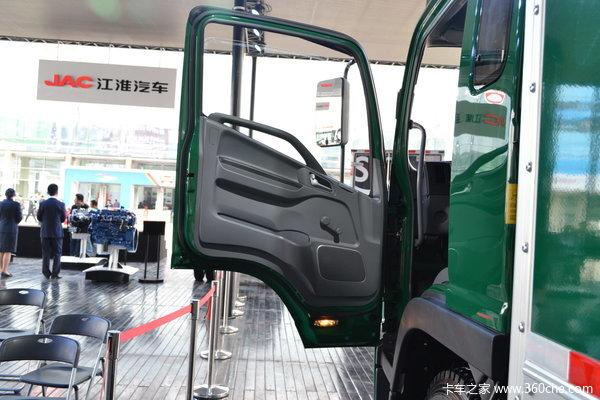 江淮 帅铃中卡 165马力 4X2 排半载货车(邮政)驾驶室图