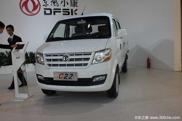 东风小康 C22系列 1.2L 87马力 汽油 双排栏板微卡