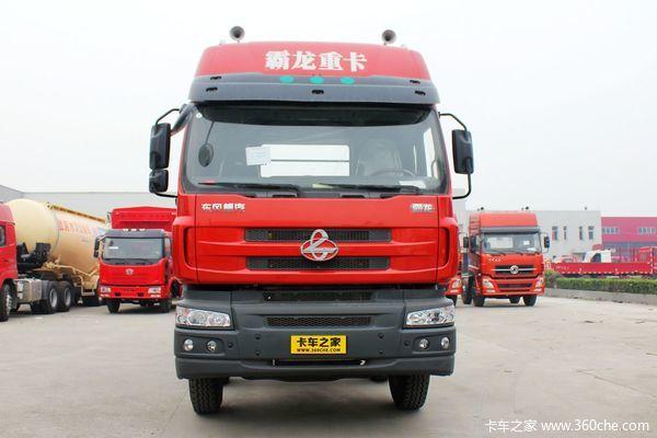 东风柳汽 霸龙M5重卡 375马力 8X4 厢式载货车(LZ5310XXYQELA)