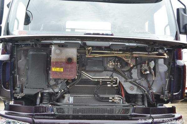 东风柳汽 霸龙507重卡 240马力 6X2 排半载货车(底盘)(LZ5250XXYM5CA)底盘图