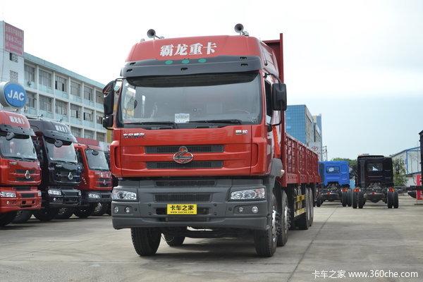 东风柳汽 霸龙M5重卡 350马力 8X4 栏板载货车(LZ1310QELA)
