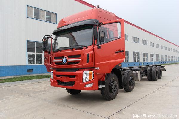 重汽王牌 W5G 340马力 8X4 载货车(底盘)(CDW1310A1T4)