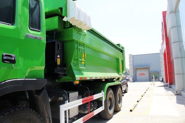 江淮 格尔发K3系列重卡 336马力 6X4 自卸车(U型斗新型渣土车)(HFC3251K2R1F)上装图