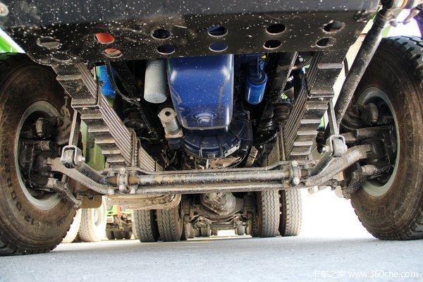 陕汽 德龙F3000重卡 336马力 6X4 自卸车(U型斗新型渣土车)(SX3256DR3841)底盘图