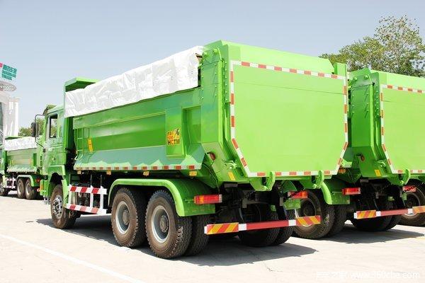 陕汽 德龙F3000重卡 336马力 6X4 自卸车(U型斗新型渣土车)(SX3256DR3841)上装图