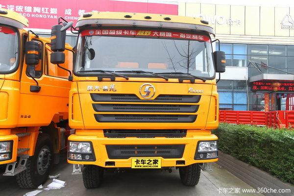 陕汽 德龙F3000重卡 336马力 6X4 自卸车(SX3256DR3841)外观图