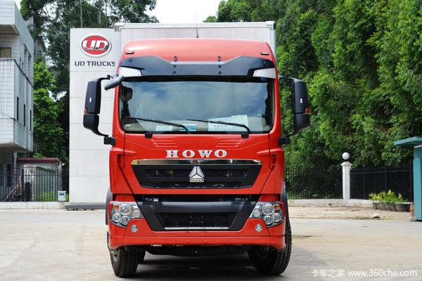中国重汽 HOWO T5G重卡 240马力 6X2 厢式载货车(ZZ1257K56CGD1)外观图