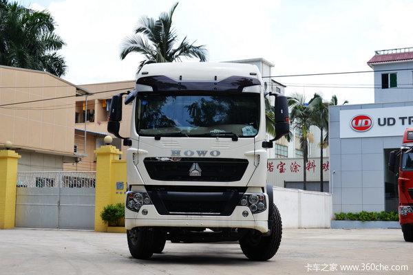 中国重汽 HOWO T5G重卡 280马力 8X4 载货车底盘(ZZ1317M466GD1)外观图