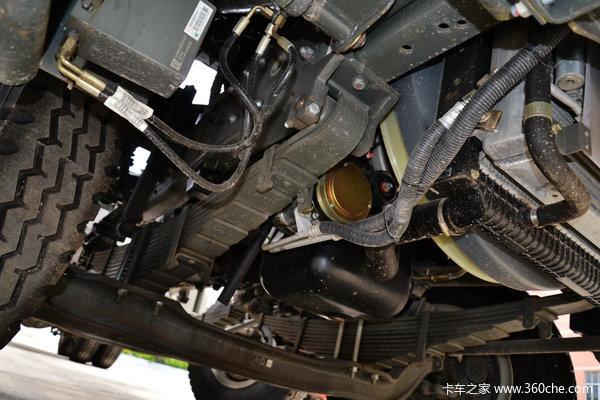 中国重汽 HOWO T5G重卡 280马力 8X4 载货车底盘(ZZ1317M466GD1)底盘图