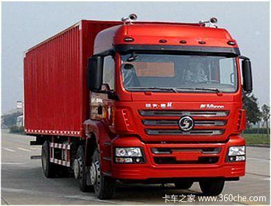 陕汽德龙新M3000 220马力 6X2 厢式载货车(SX5256XXYGK549)外观图