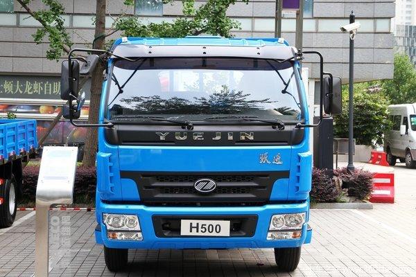南京依维柯 跃进 帅虎H500 160马力 4X2 6.7米排半栏板式载货车(NJ1150DDPW4)