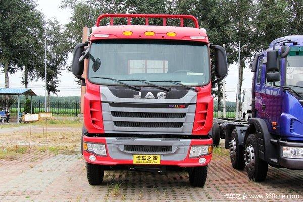 江淮 格尔发K3系列重卡 200马力 6X2 栏板载货车(HFC1241P2K1C54F)外观图