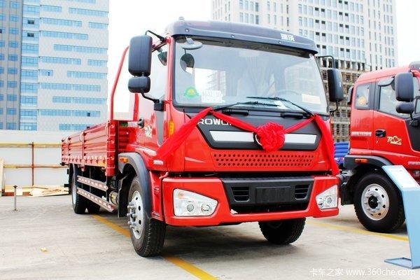 福田 瑞沃 170马力 4X2 栏板式载货车(BJ1165VKPEK-1)
