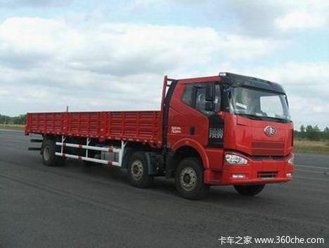 解放 J6M中卡 280马力 8X4 栏板载货车(CA1310P63K2L6T4A1E4)