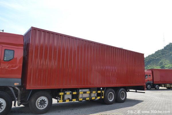 东风柳汽 霸龙重卡 280马力 8X4 厢式载货车(LZ5311JSQQELA)上装图
