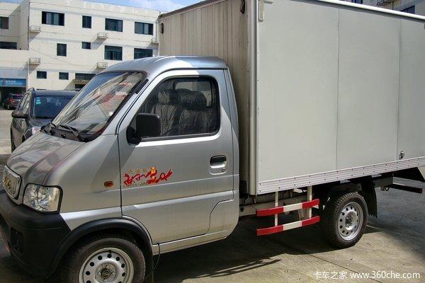 江淮 好微 1.1L 60马力 汽油 单排厢式微卡