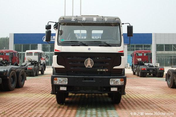 北奔 NG80系列重卡 336马力 6X4 天然气排半栏板载货车(ND11602B41J)