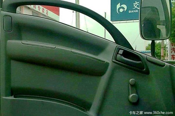 庆铃 700P系列中卡 189马力 4X2 厢式载货车(QL5101XXY9PARJ)(气刹)驾驶室图