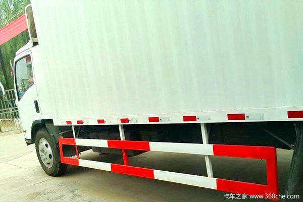 庆铃 700P系列中卡 189马力 4X2 厢式载货车(QL5101XXY9PARJ)(气刹)上装图