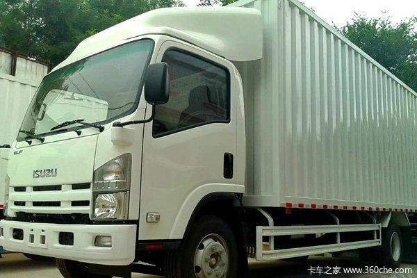 庆铃 700P系列中卡 189马力 4X2 厢式载货车(QL5100XXY9MARJ)(油刹)外观图