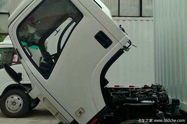 庆铃 700P系列中卡 189马力 4X2 厢式载货车(QL5100XXY9MARJ)(油刹)底盘图