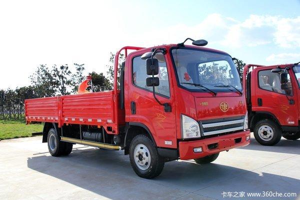 青岛解放 虎VH 120马力 4.57米单排栏板载货车(CA1081P40K2L2E4A84)