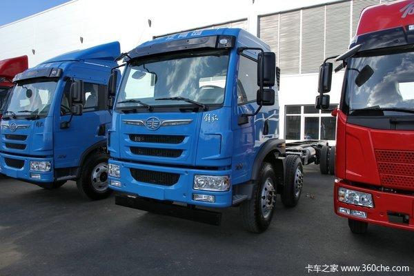 青岛解放 龙V中卡 220马力 6X2 载货车(底盘)(CA1250PK2L7T3E4A80)