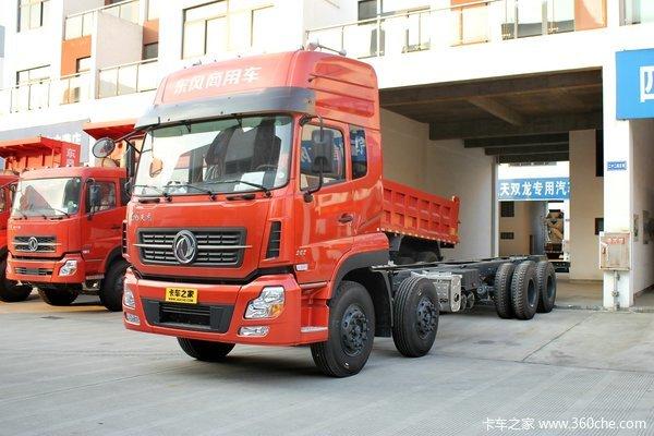 东风 天龙重卡 292马力 8X4 载货车(DFL1311A10)(底盘)