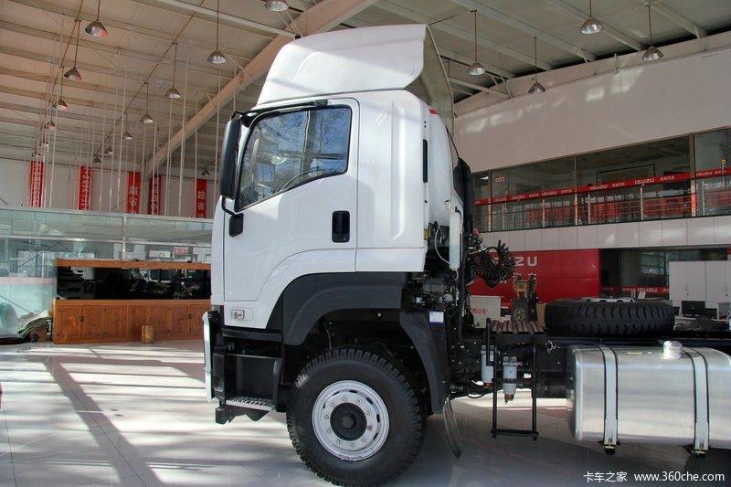 庆铃 VC46重卡 350马力 6X4 牵引车(QL4250UKCZ)