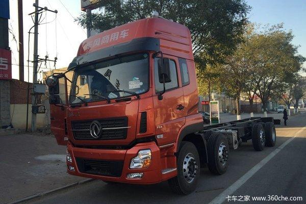东风 天龙重卡 270马力 8X2 载货车(DFL5311CCYAX11B)(底盘)