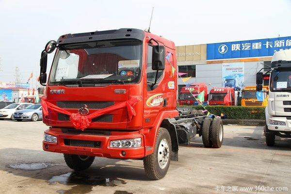 东风柳汽 乘龙中卡 170马力 4X2 载货车底盘(LZ1165M3AAT)