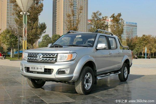 2014款郑州日产 东风锐骐 豪华型 3.0L柴油 四驱 双排皮卡外观图