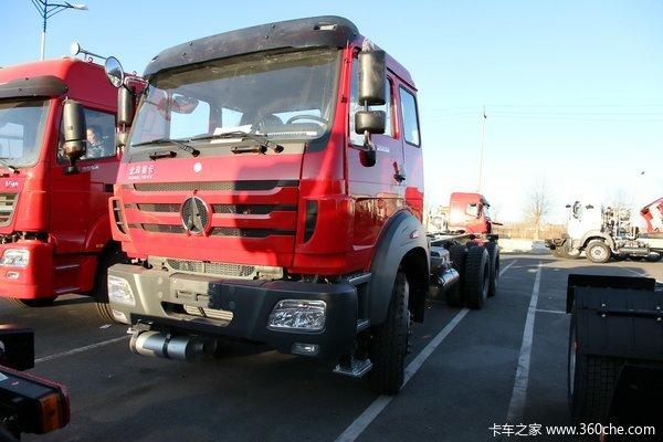 北奔 NG80系列重卡 300马力 6X4 LNG载货车底盘(ND1250BG5J6Z00)