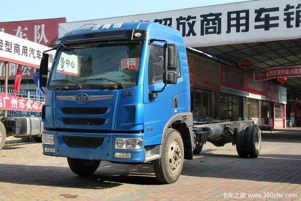 青岛解放 龙V中卡 150马力 4X2 排半栏板载货车(CA1120PK2L2E4A80)