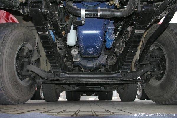 陕汽 德龙新M3000 336马力 8X4 自卸车(SX3316HR366)底盘图