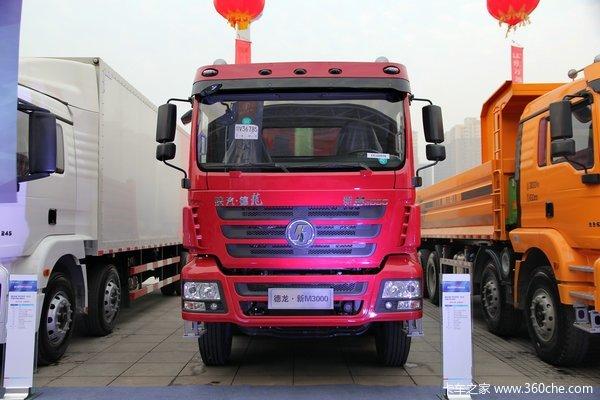 陕汽 德龙新M3000 300马力 8X4 自卸车(SX3316MN366)外观图