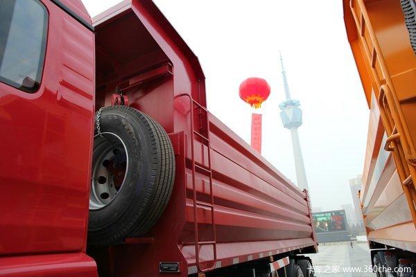 陕汽 德龙新M3000 300马力 8X4 自卸车(SX3316MN366)上装图