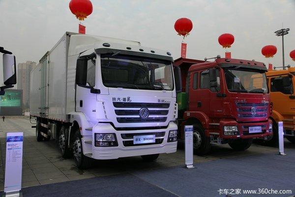 陕汽德龙新M3000 245马力 6X2 厢式载货车(SX5256XXYMK549)外观图
