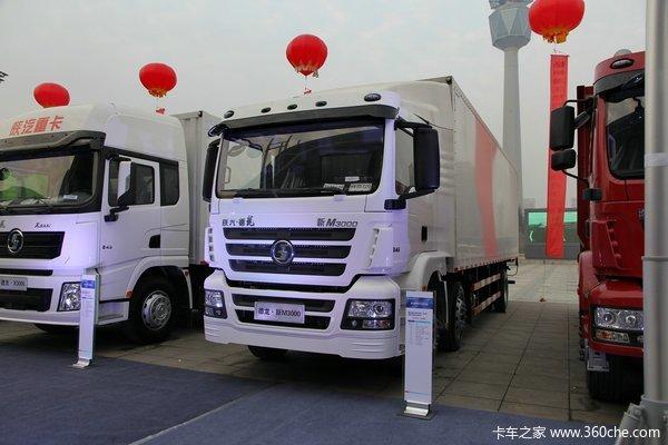 陕汽德龙新M3000 245马力 6X2 厢式载货车(SX5256XXYMK549)